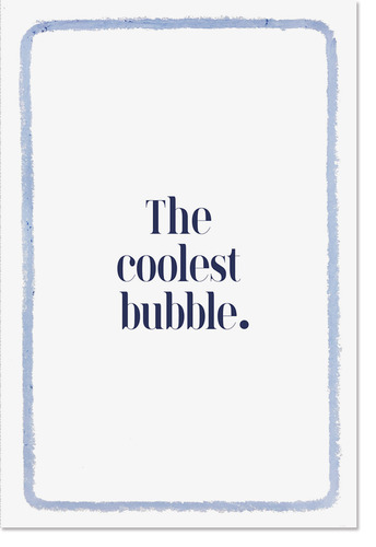 The coolest bubble / 김준영